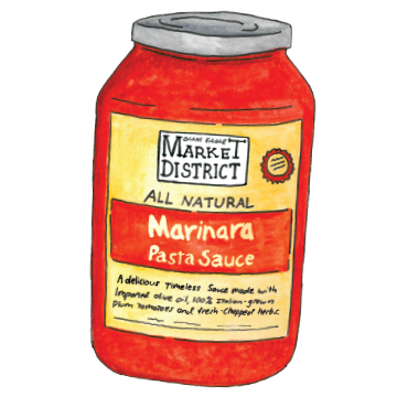 Market District Pasta Sauces