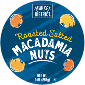 Roasted Salted Macadamia Nuts