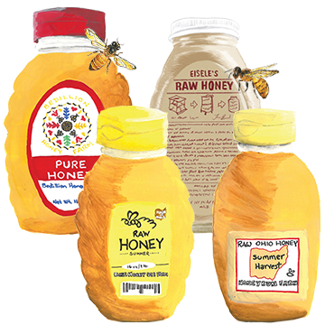 We Love Local Honey!