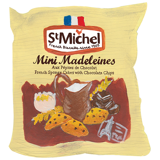 St Michel Madeleine's Traditional French Sponge Cakes