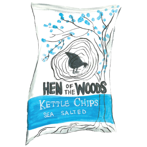 Hen of the Woods Kettle Chips