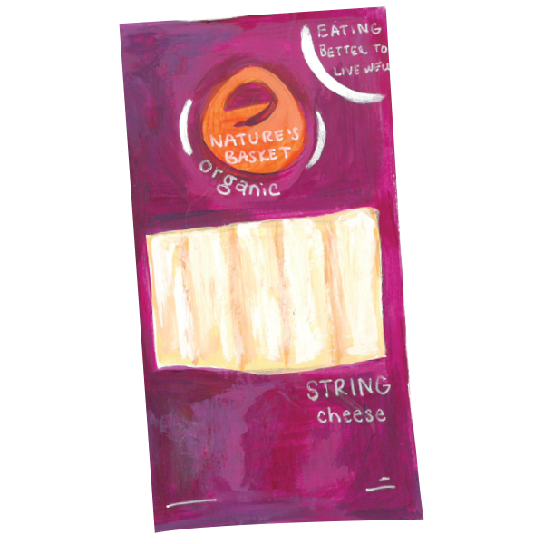 Nature's Basket Organic String Cheese