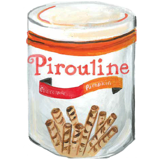 Illustration of Pumpkin Spice Piroulines
