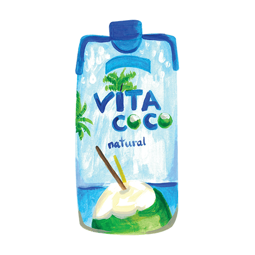Illustration of Vita Coco